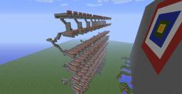2000+ Tnt Cannon. One Button/ Target! Minecraft Map & Project