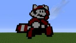 2D Raccoon Minecraft Map & Project