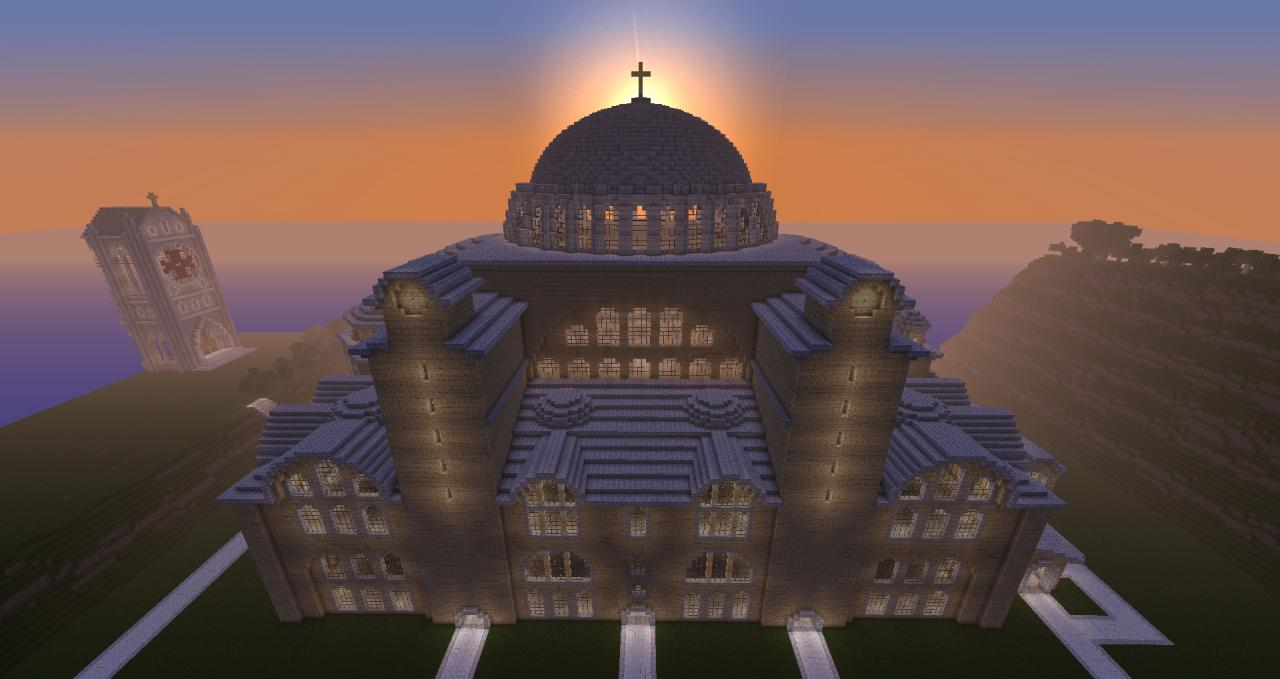 Hagia Sophia Minecraft Project