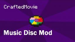 The CraftedMovie Discs [v1.4] [1.2.5] (Steps to update to 1.5.1 yourself) Minecraft Mod