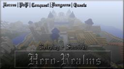 ▓█►.:::Hero-Realms:::.◄█▓ ♦ Heroes ♦ PvP ♦ Dungeons ♦ Quests ♦ Races ♦ 1.1 Minecraft Server