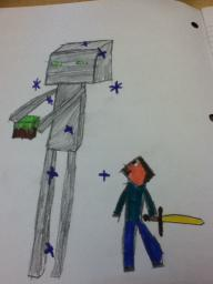 What do you think of my Artistic Skills? (1-10) Minecraft Blog Post