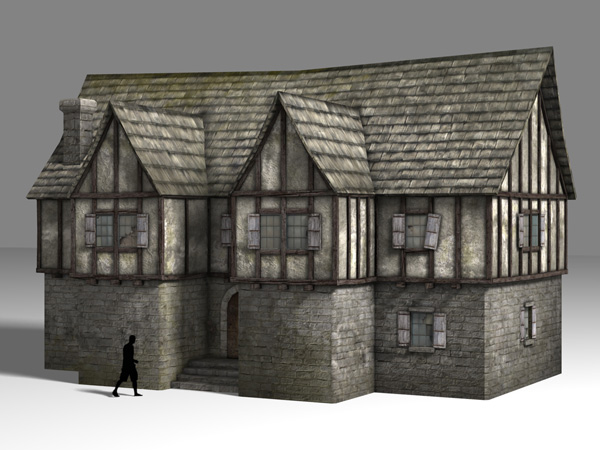 Medieval house 1 minecraft project for Medieval home plans