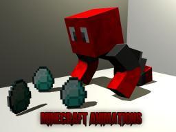 My minecraft animations (old ones) Minecraft