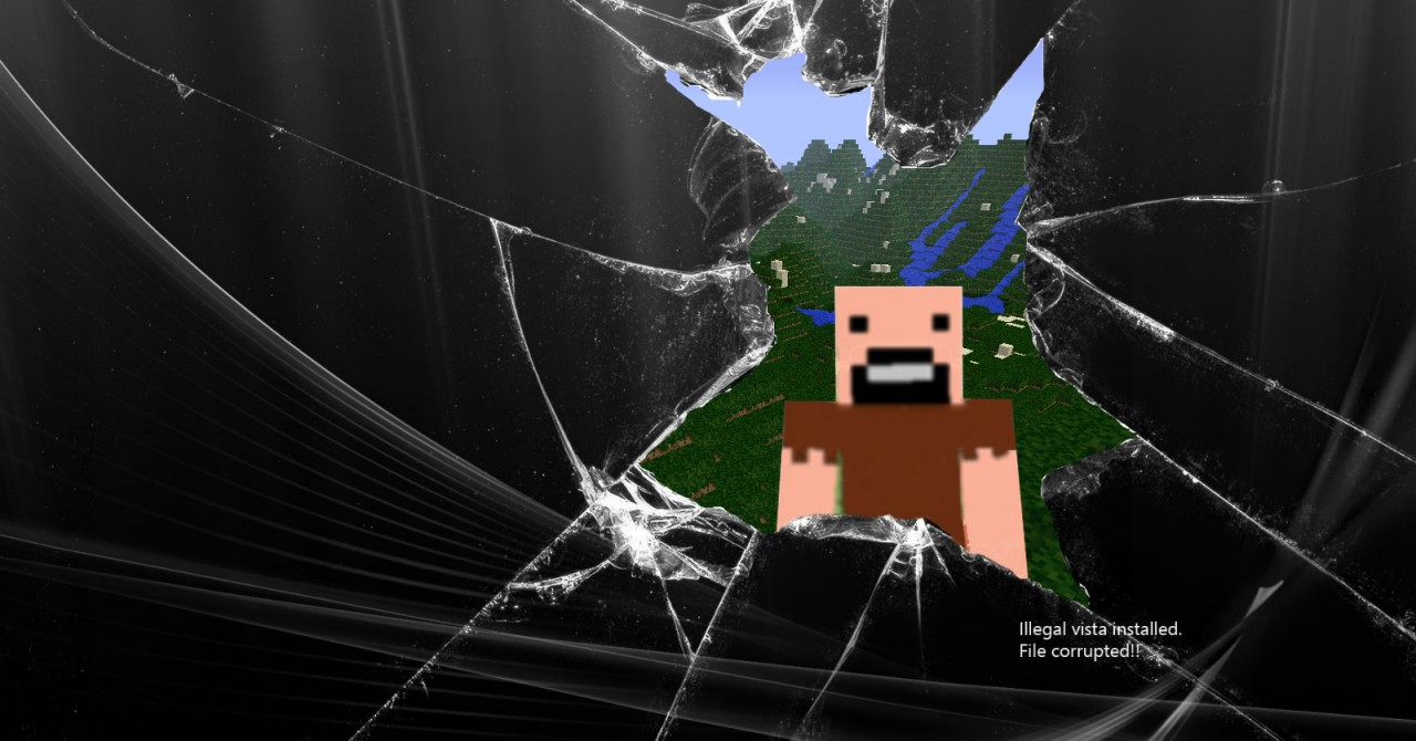 Beautiful Wallpaper Minecraft Design - NotchCracked_1492376  You Should Have_511434.jpg