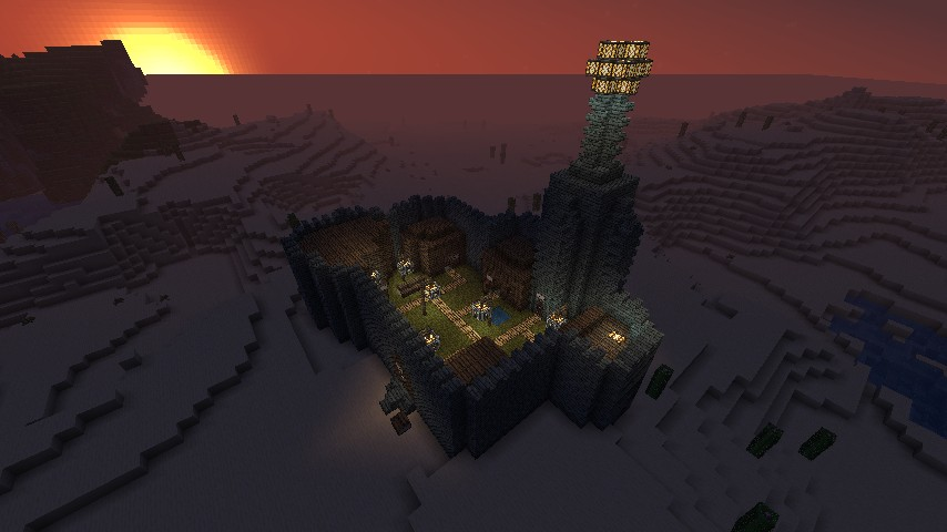 how to make my world look beautiful in minecraft