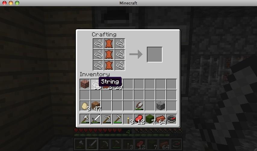 Minecraft Pumpkin Pie Crafting Recipe