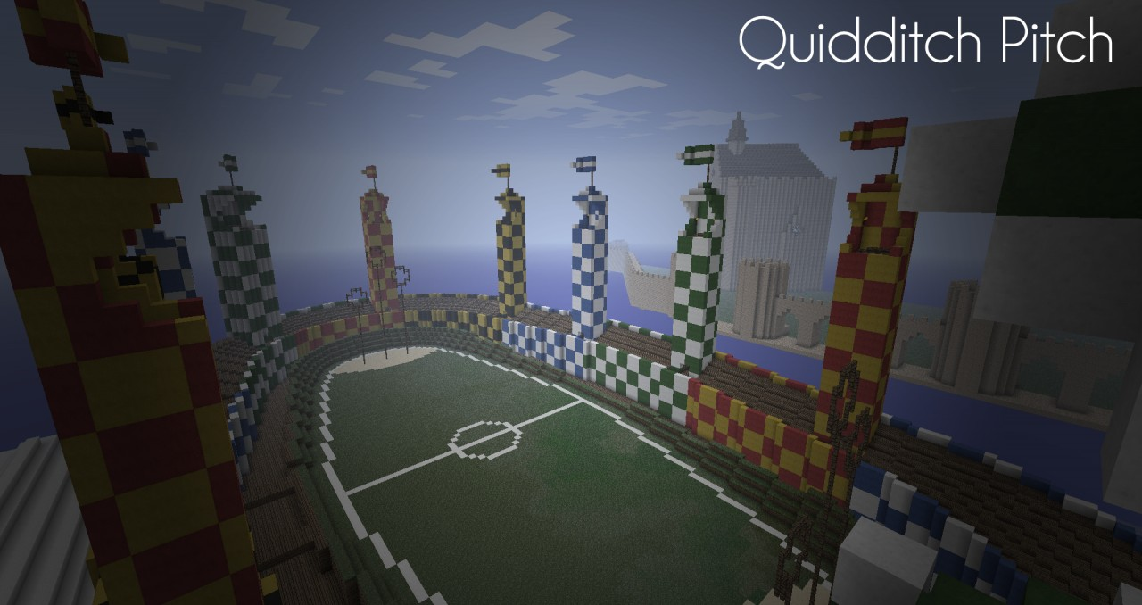 The Quidditch Pitch which many seems to be liking.