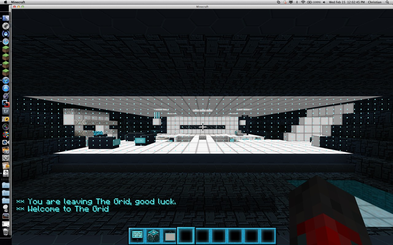 Tron Flynn Safe House Minecraft Project