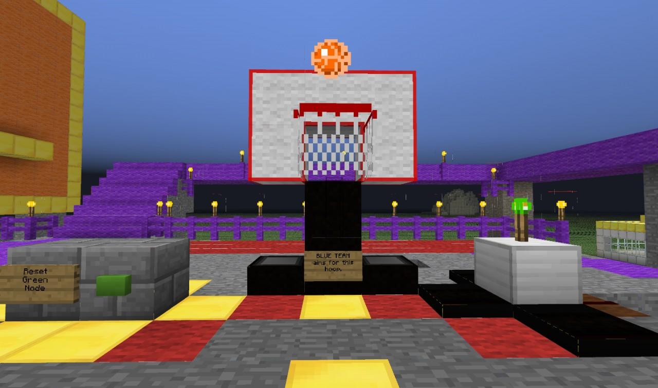 basketball download 1.14.2 court minecraft