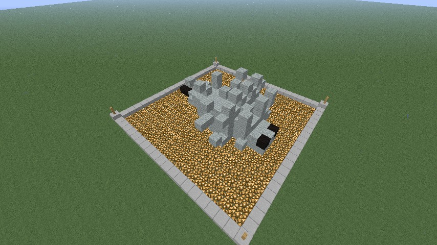 Silverfish Statue Minecraft Project