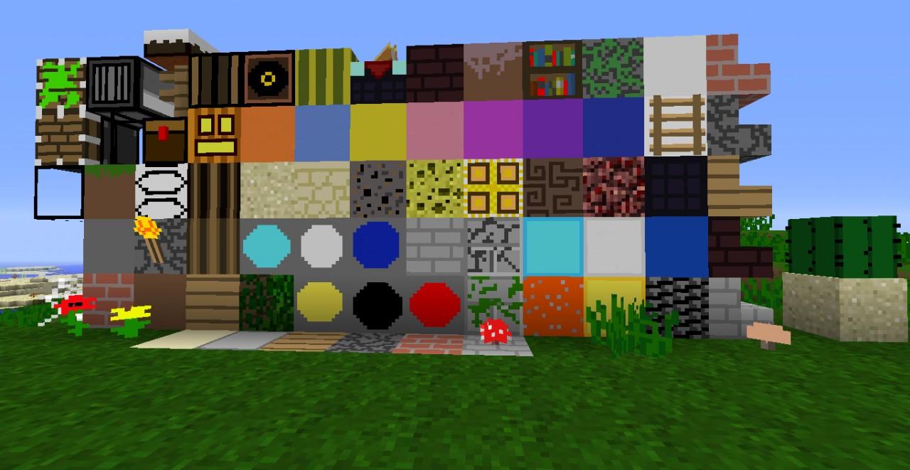 SimpleCraft V125 32x32 Minecraft Texture Pack