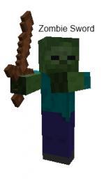 Zombie Sword [No ModLoader] [MC 1.1] Minecraft Mod