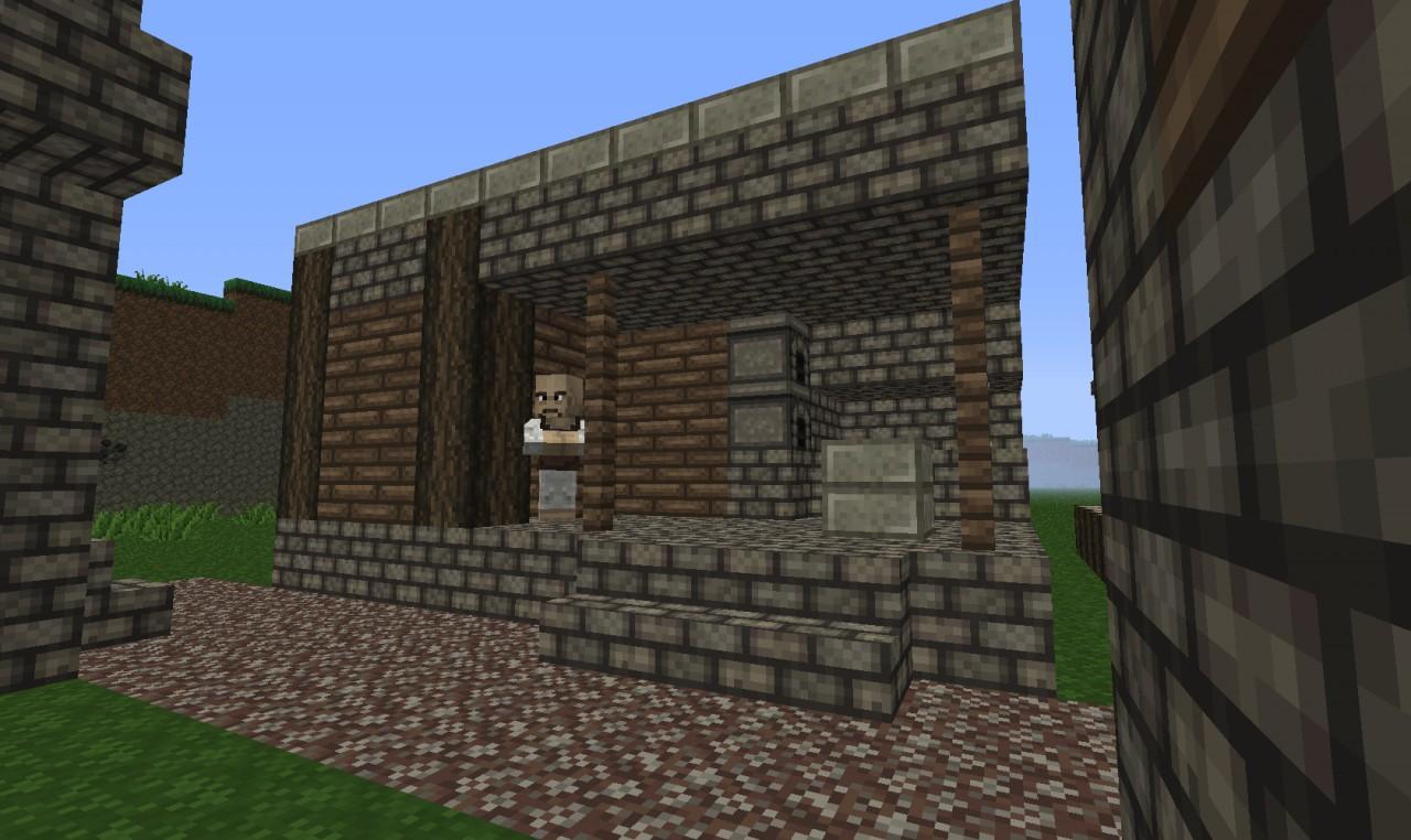 Pictures of Minecraft Village Blacksmith - #rock-cafe