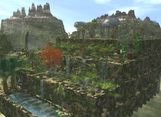 Hanging Gardens Of Babylon Project
