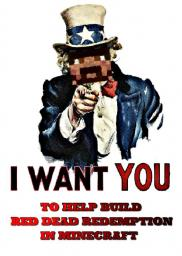 RED DEAD MINECRAFT NEEDS YOU!