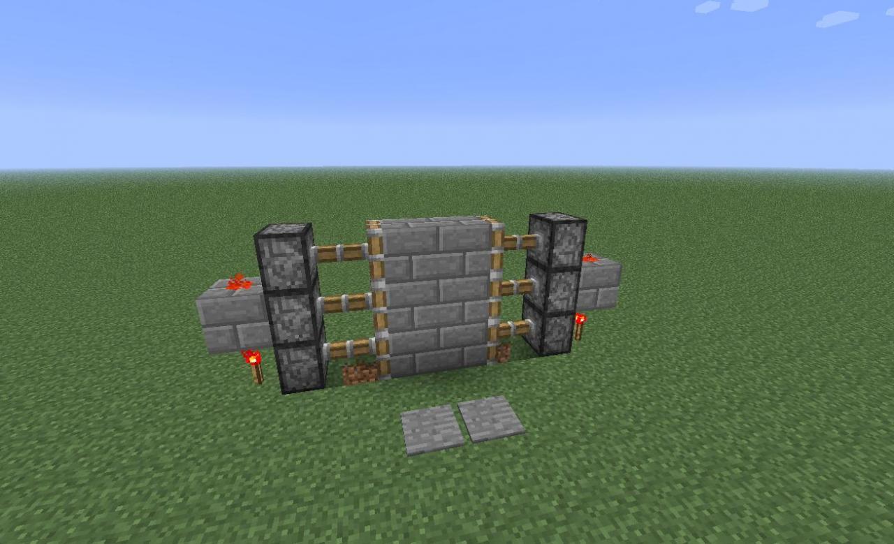 & Most Compact 2x3 Piston Door Minecraft Project Pezcame.Com