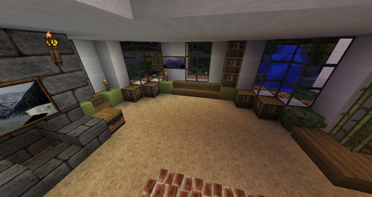 modern house 4 minecraft project. Black Bedroom Furniture Sets. Home Design Ideas