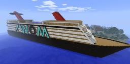 Large scale cruse ship (perfect for server spawns) Minecraft Map & Project