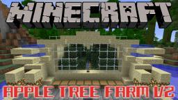 Apple Tree Farm V2 Tutorial Minecraft Map & Project