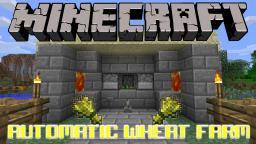 Automatic Wheat Farm Tutorial Minecraft Map & Project