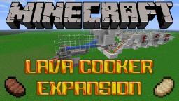 Lava Cooker Expansion Tutorial Minecraft Map & Project