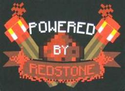 powered by redstone logo Minecraft Map & Project