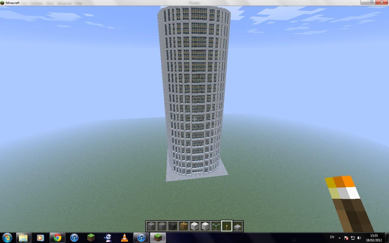 how to build a skyscraper in minecraft