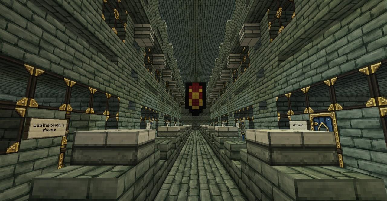 Underground Hotel. Minecraft Project