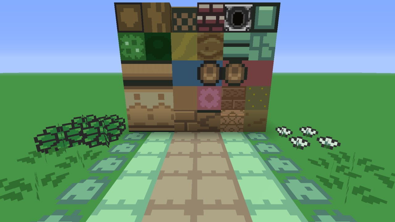 These are all of the textures that I take credit for in this pack