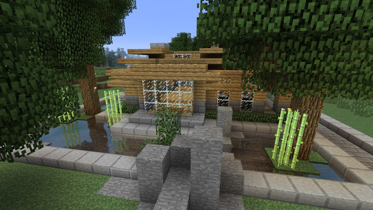 Minecraft utorial HD - Modern Survival House 2 Minecraft Project - ^