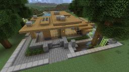 Minecraft Tutorial HD - Modern Survival House 2 Minecraft Project