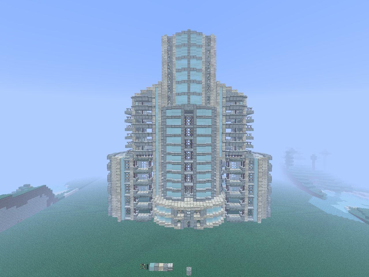 Modern Hotel Concept Minecraft Project