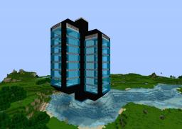 Moden Tower (unfinished) Minecraft Map & Project