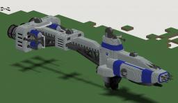 Babylon 5: Hyperion Class Cruiser (download link!) Minecraft Map & Project