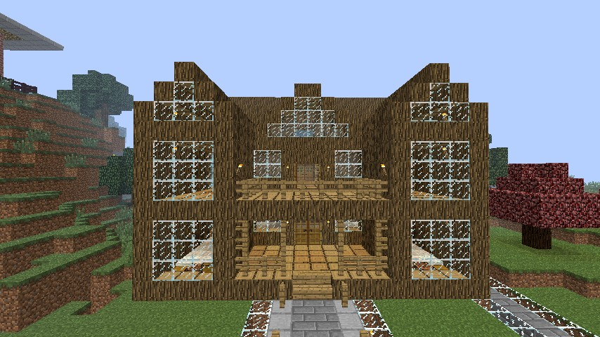 Luxe villa minecraft project