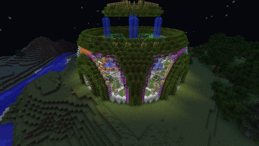 minecraft garden server spawn minecraft project