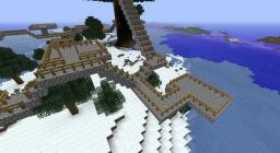 TreeHouseVillage with plots Minecraft Map & Project