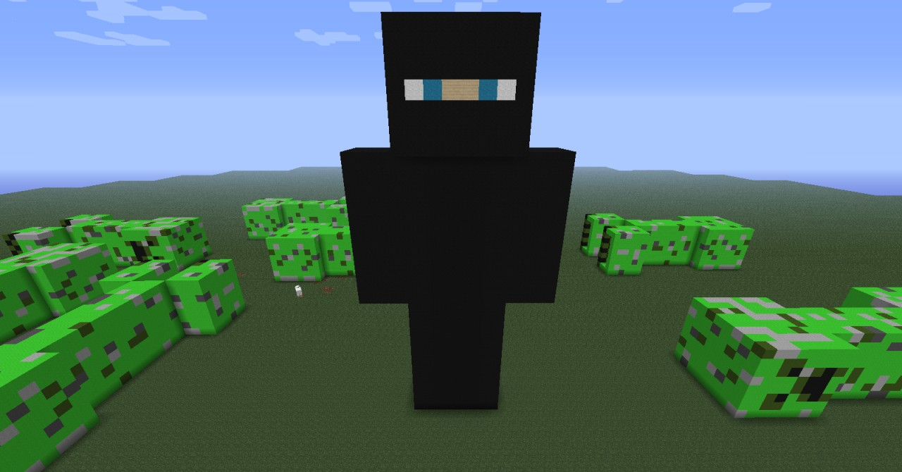 Steve v s creepers minecraft project - Minecraft creeper and steve ...