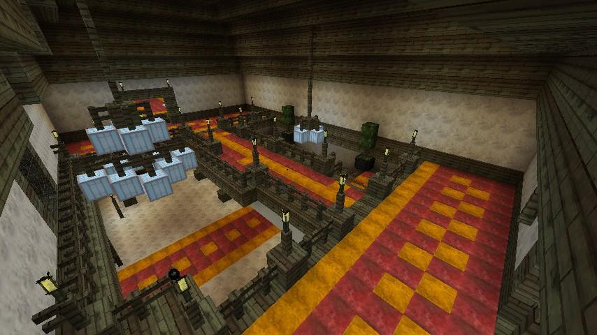 resident evil genesis mansion minecraft project