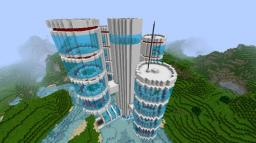 Modern Tower (Unfinished) Minecraft Map & Project