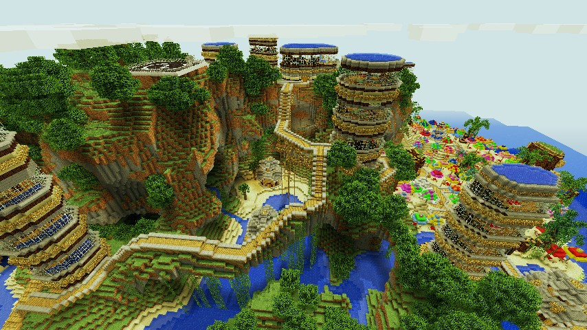 Thecraftminer S Tropical Paradise Island Contest