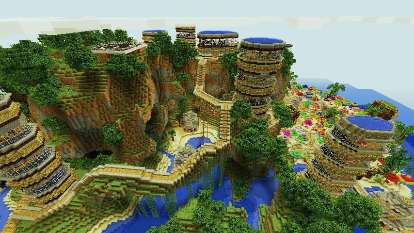 Minecraft Tropical Island: Tropical Paradise Island [Contest
