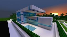 Modern Starter House (unfurnished) Minecraft Map & Project