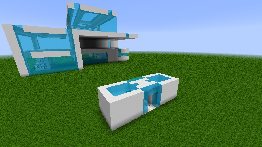 Simple modern sliding doors & Simple modern sliding doors Minecraft Project