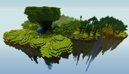 Floating Island Survival Minecraft Map & Project