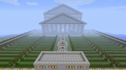 Minecraft Pantheon House Minecraft Project