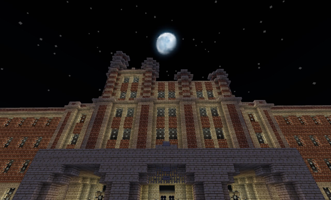 Waverly Hills Sanatorium Minecraft Project