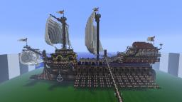 Galleass ''Basilissa'' Minecraft Project