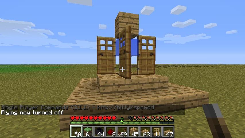 door trap Minecraft Project